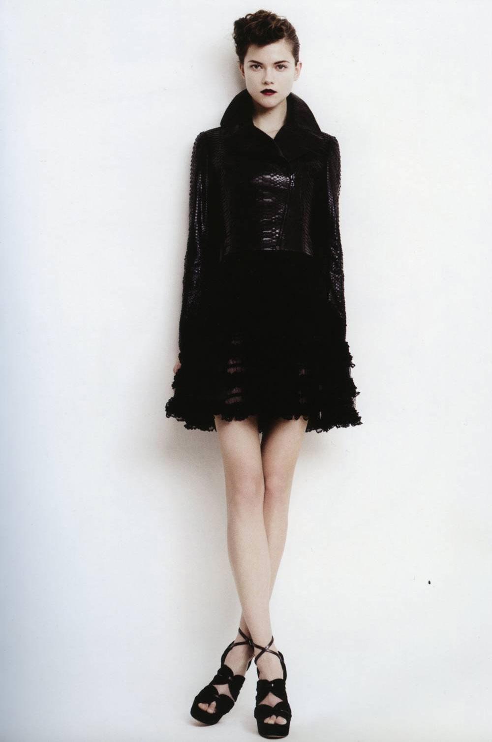 Azzedine Alaia spring 2009 lookbook photo Willy Vanderperre stylist Joe McKenna model Kasia Struss Women Management New York Blog 4