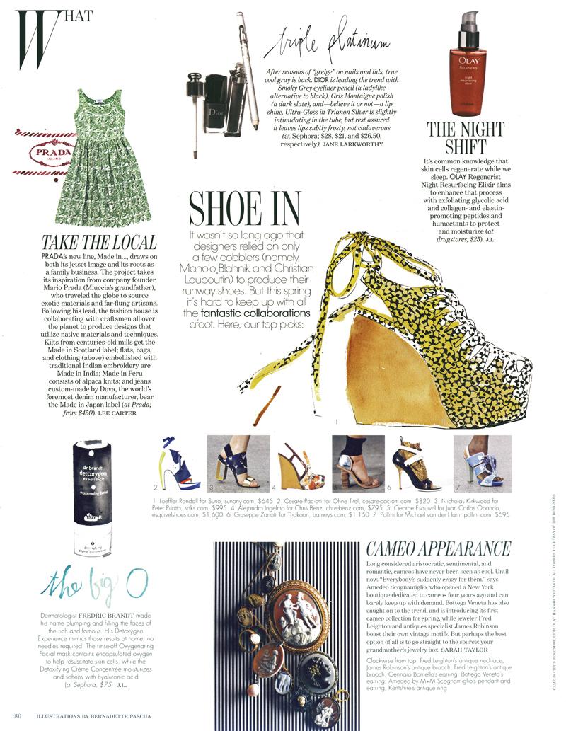 W Magazine, Feb 2011 Issue