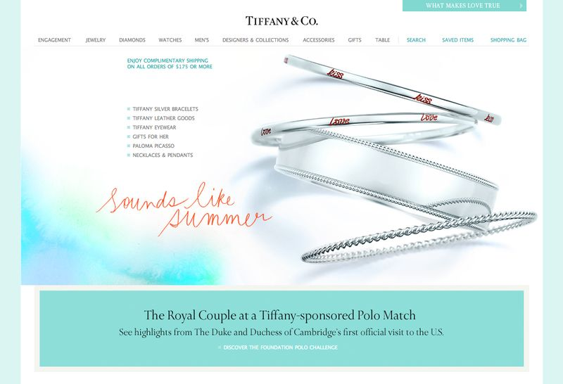 DECADE for TIFFANY & CO.