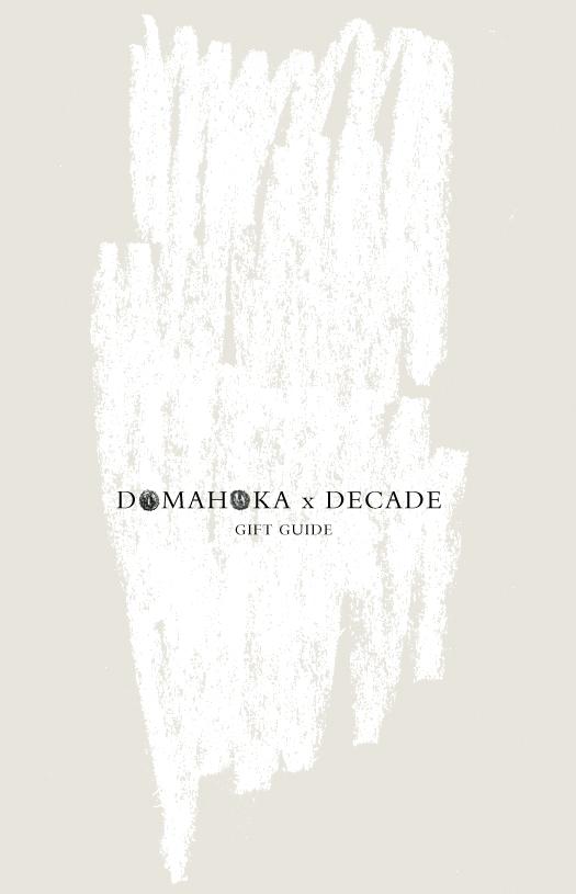 DOMAHOKA x DECADE